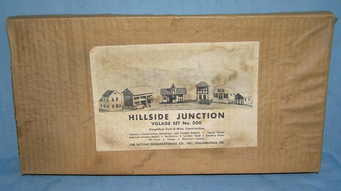 Hillside Junction village building play set