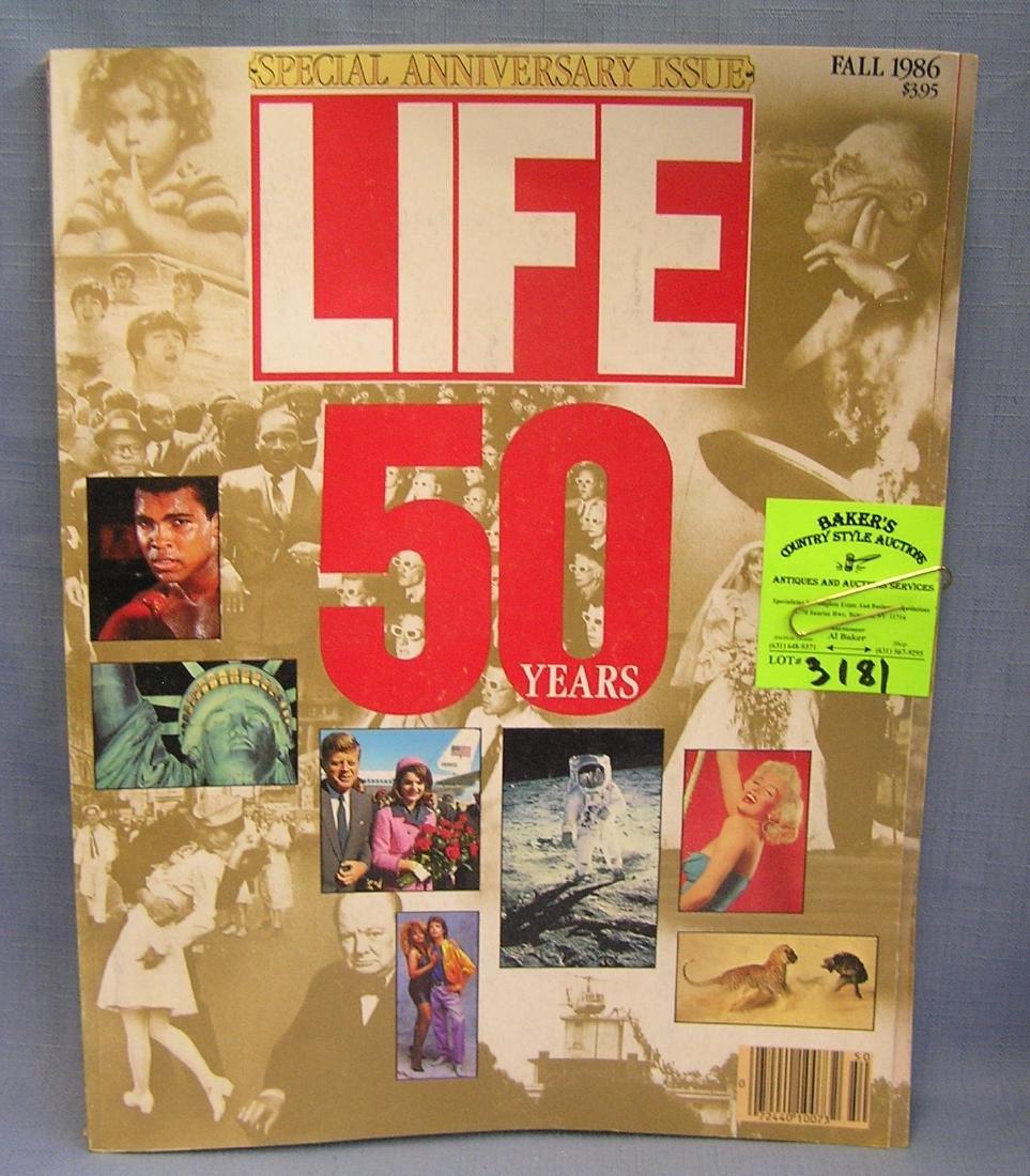 Vintage LIFE magazine oversized edition