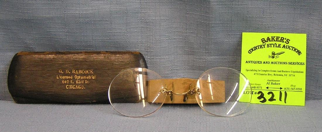Pair of high quality reading glasses