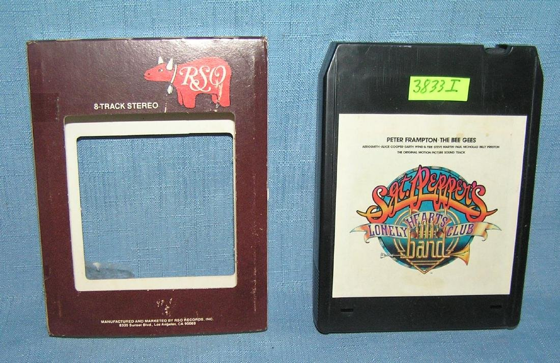 Sgt. Pepper's Lonely Hearts club Band vintage 8 track