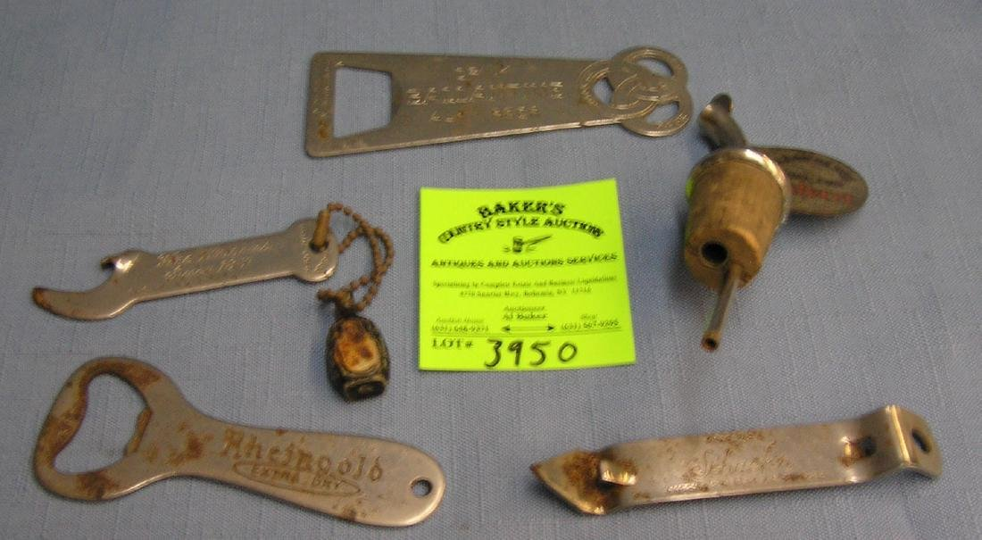 Group of vintage brewery collectibles