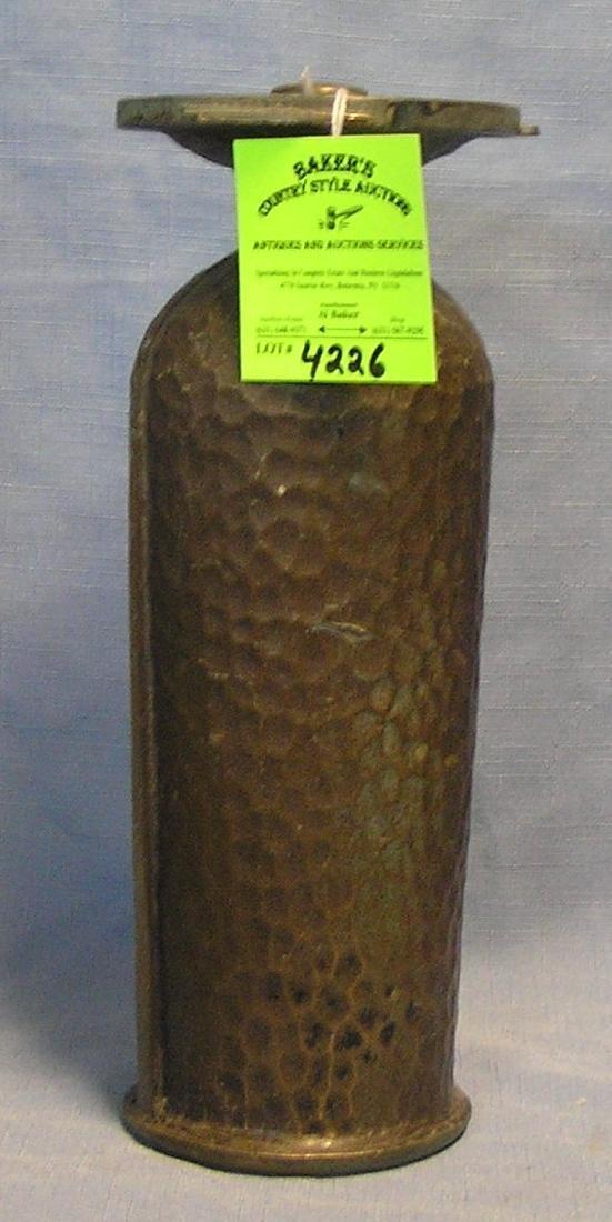 Antique Solid bronze memorial urn