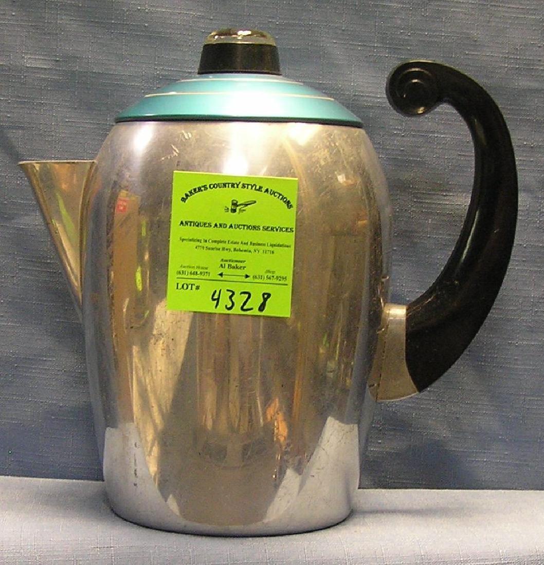 Vintage decorative coffee pot