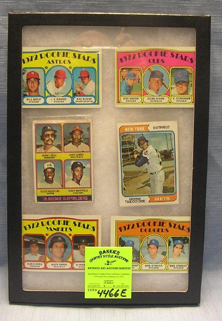 Group of vintage rookie Baseball cards