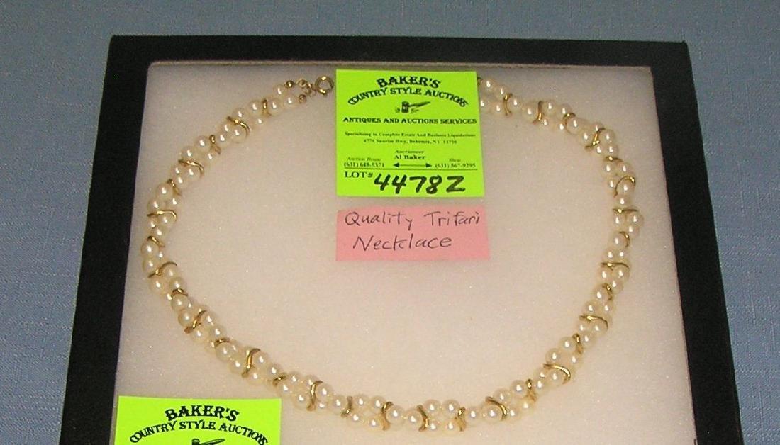 Quality Trifari necklace