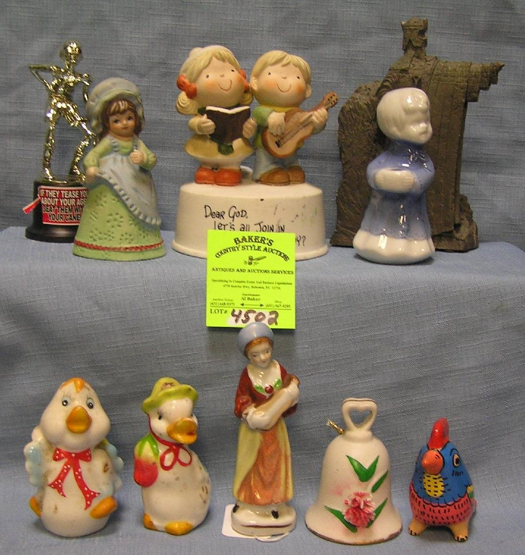 Group of vintage figurines and collectibles