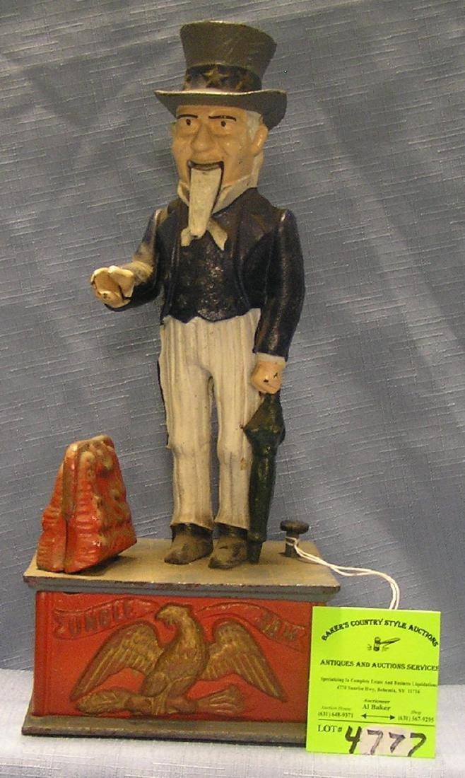 Uncle Sam mechanical bank