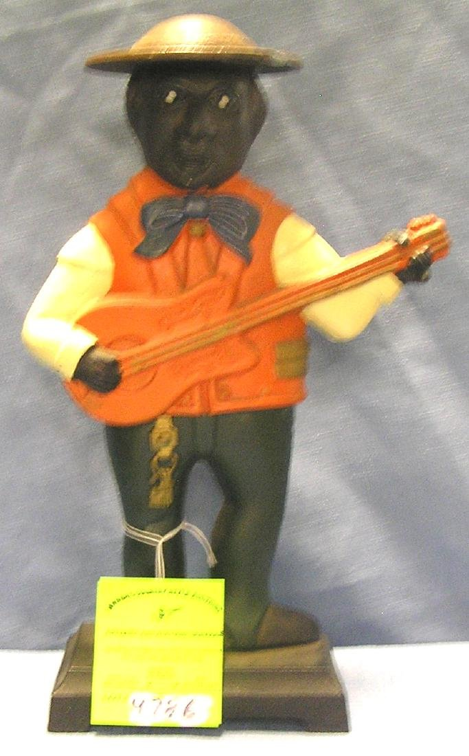 Cast iron Minstrel Bank