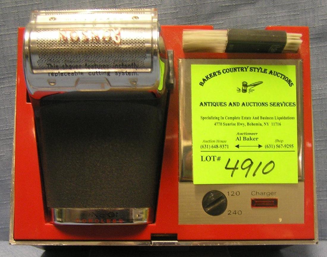 Vintage Ronson shaving kit
