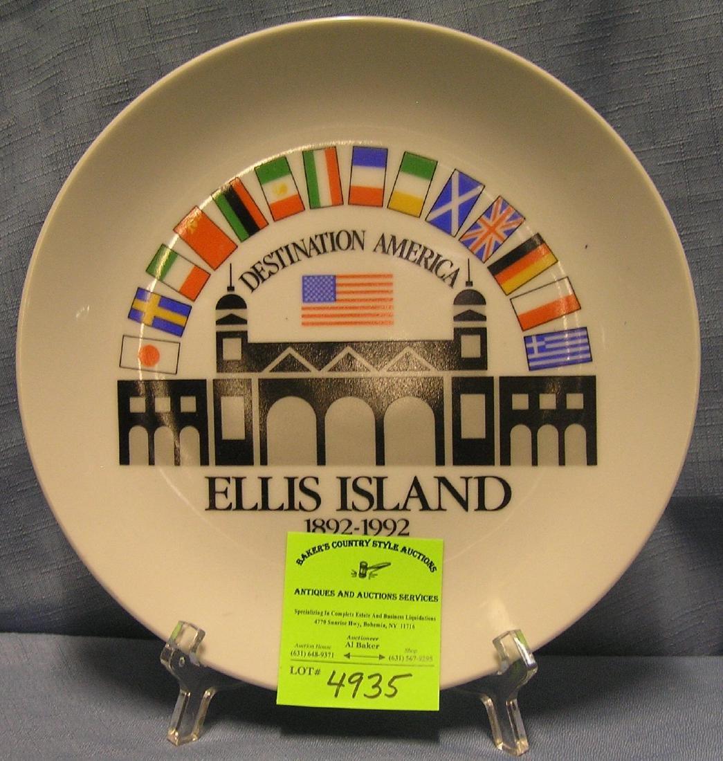 Souvenir Ellis Island destination America collectible