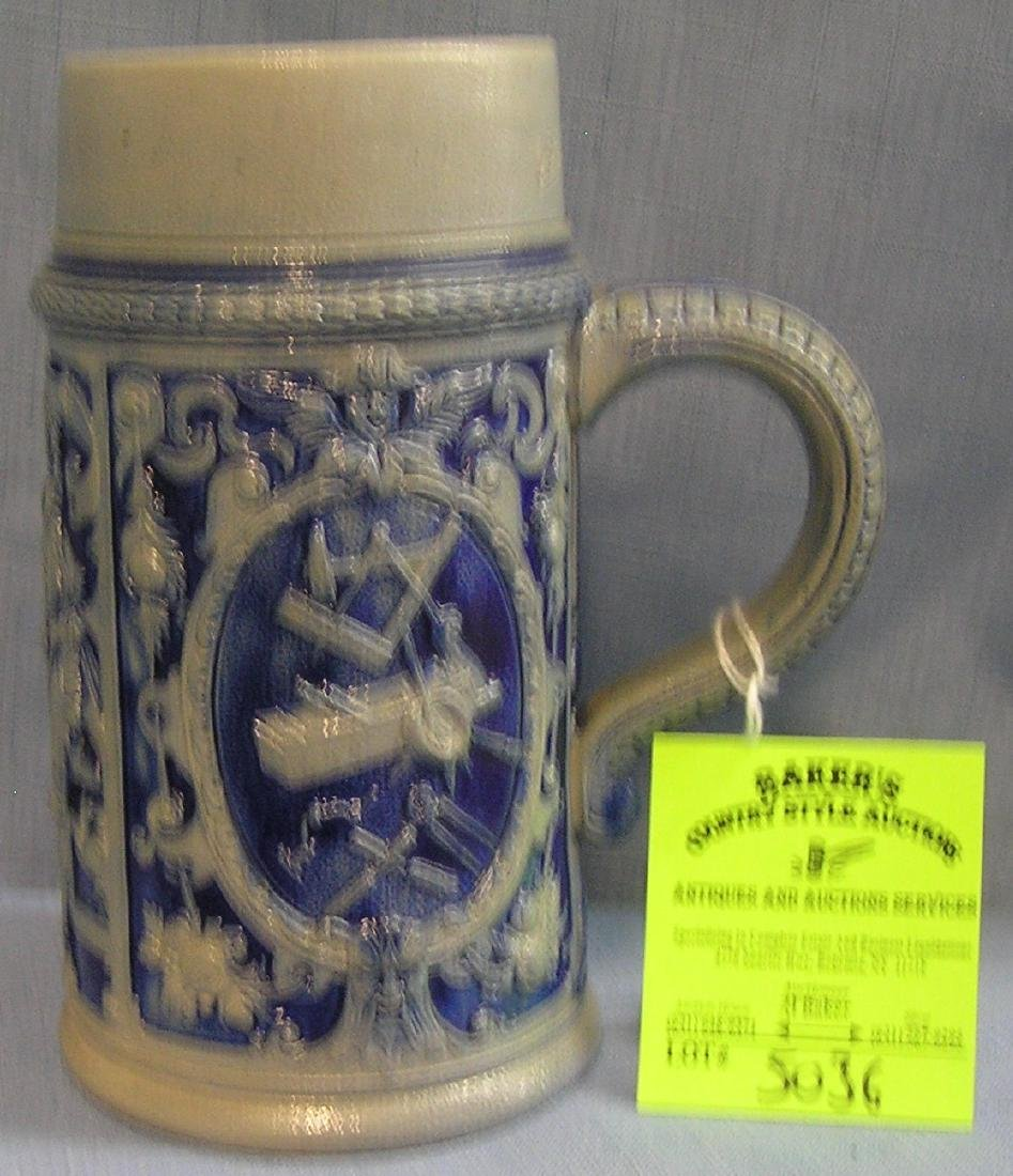 Early German beer stein