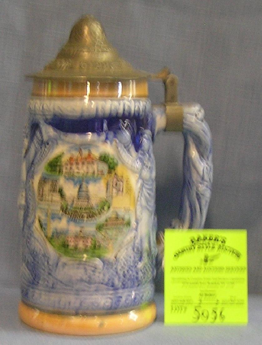 Vintage Souvenir beer stein of Washington DC