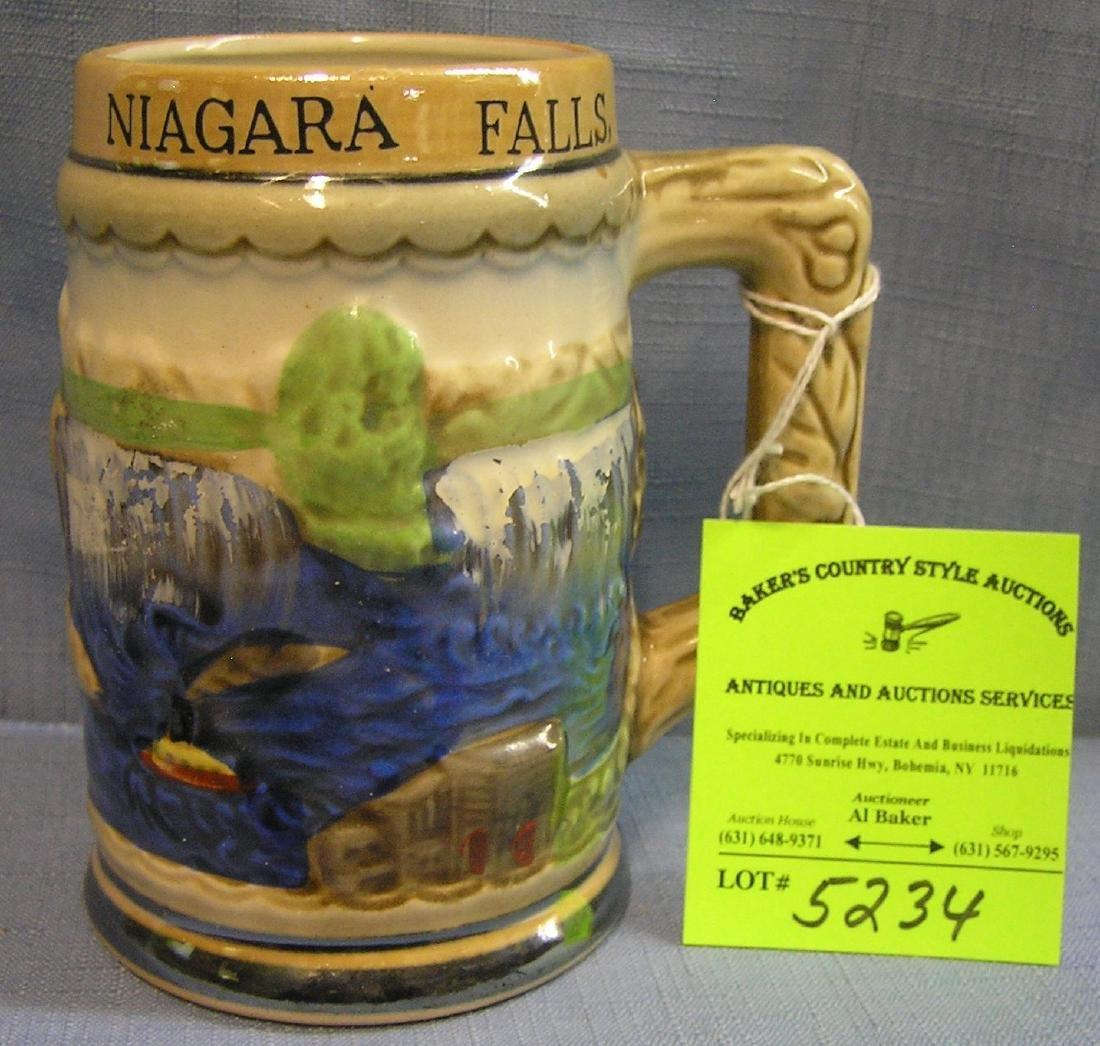 Vintage souvenir mug from Niagara Falls Canada