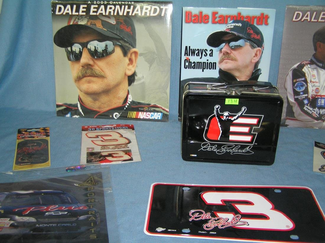 Large group of Dale Earnhardt Sr NASCAR collectibles - 2