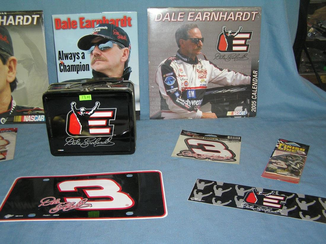 Large group of Dale Earnhardt Sr NASCAR collectibles - 3