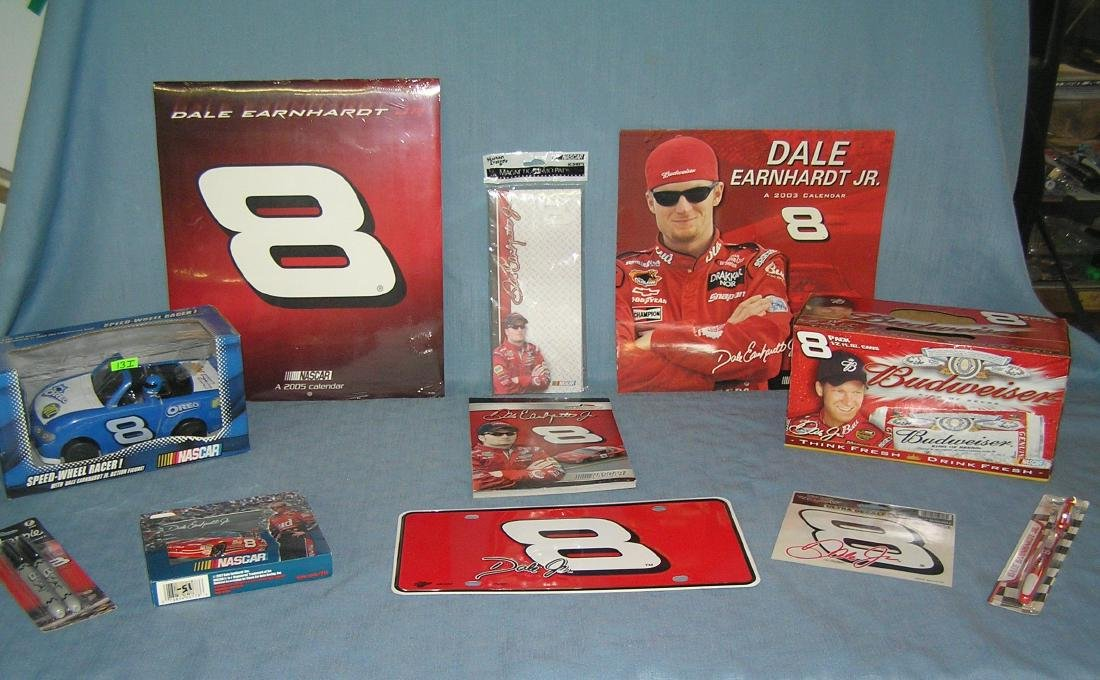 Dale Earnhardt Jr NASCAR racing collectibles