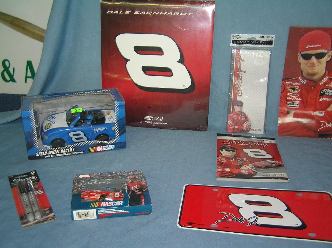 Dale Earnhardt Jr NASCAR racing collectibles - 2