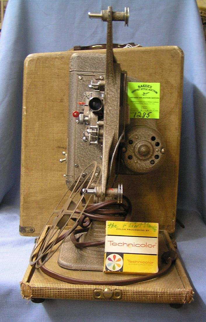 Early keystone bright beam movie projector