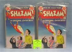 Group of 13 early Shazam comic books