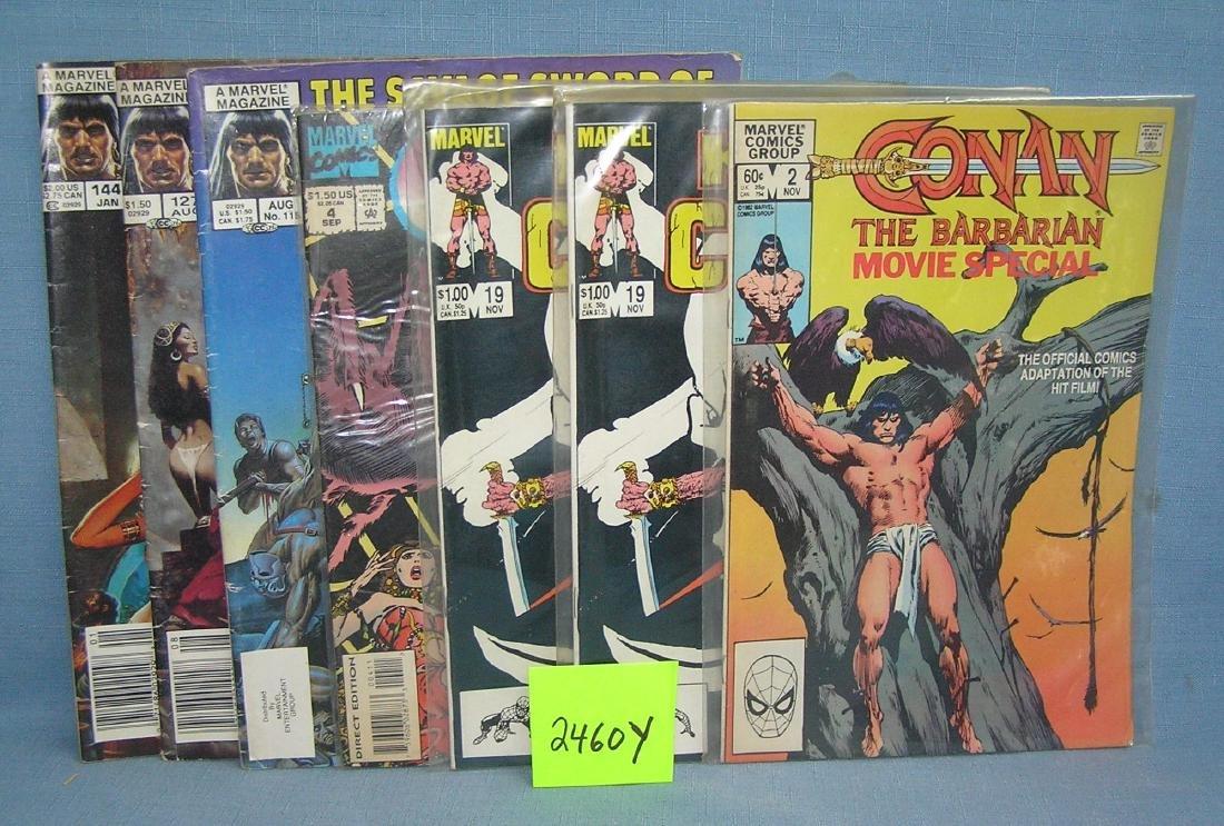 Marvel Conan the Barbarian comic books