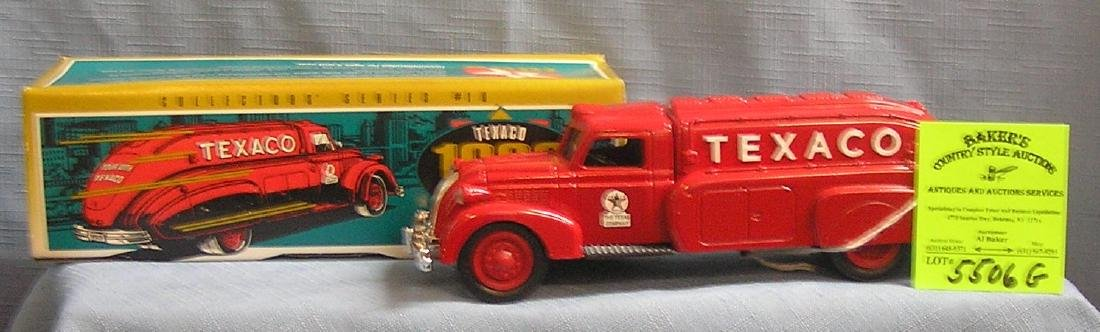 Texaco Dodge air flow petrolium delivery truck bank