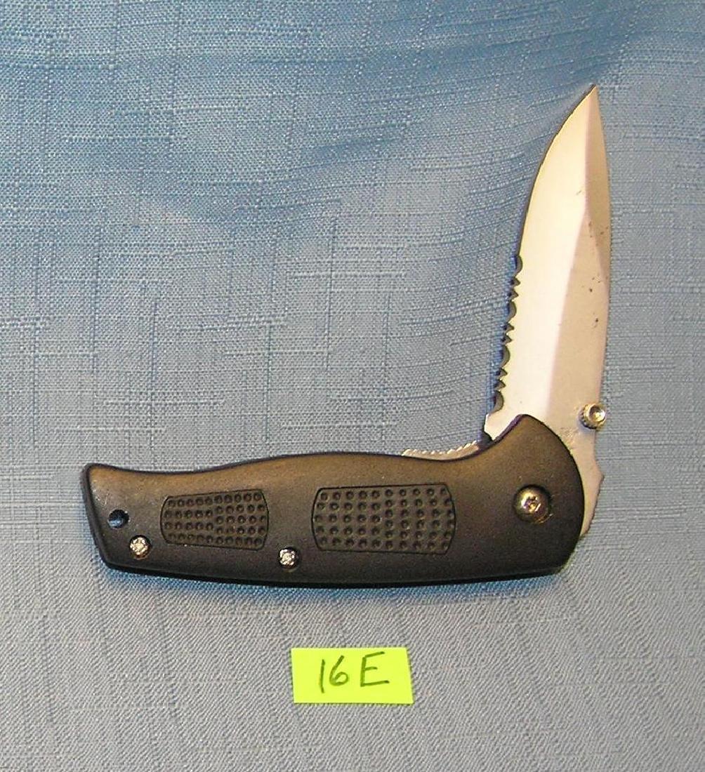 Flying Falcon single lock blade pocket knife