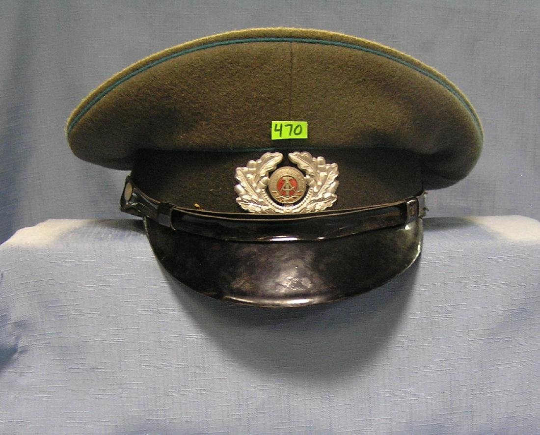 Vintage post war Russian Officers visor cap