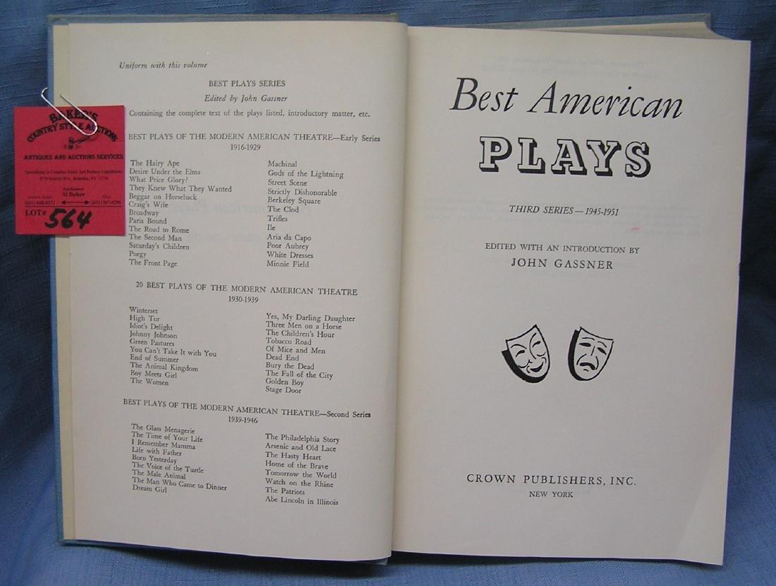 Best American plays book
