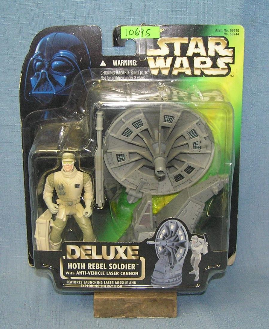 Star Wars Deluxe Hoth Rebel soldier figure