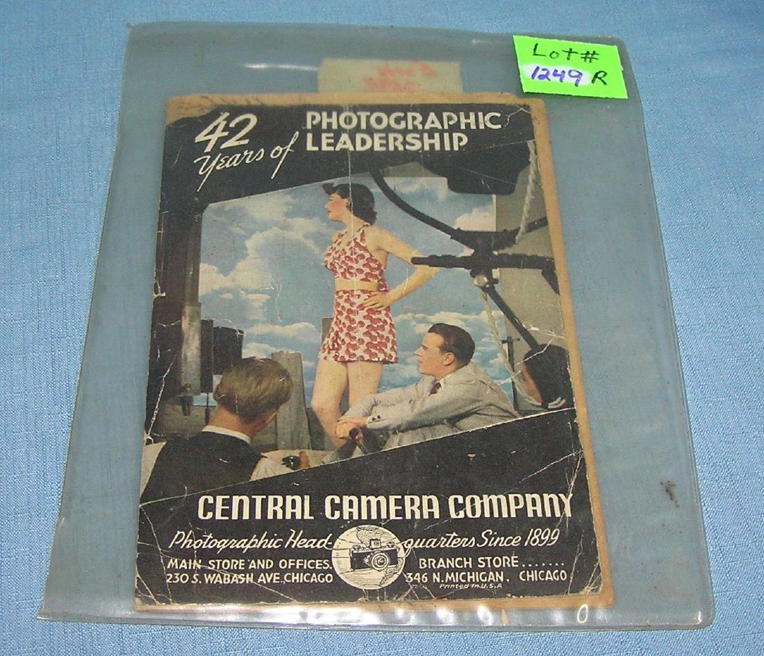Early Central Camera Co. catalog