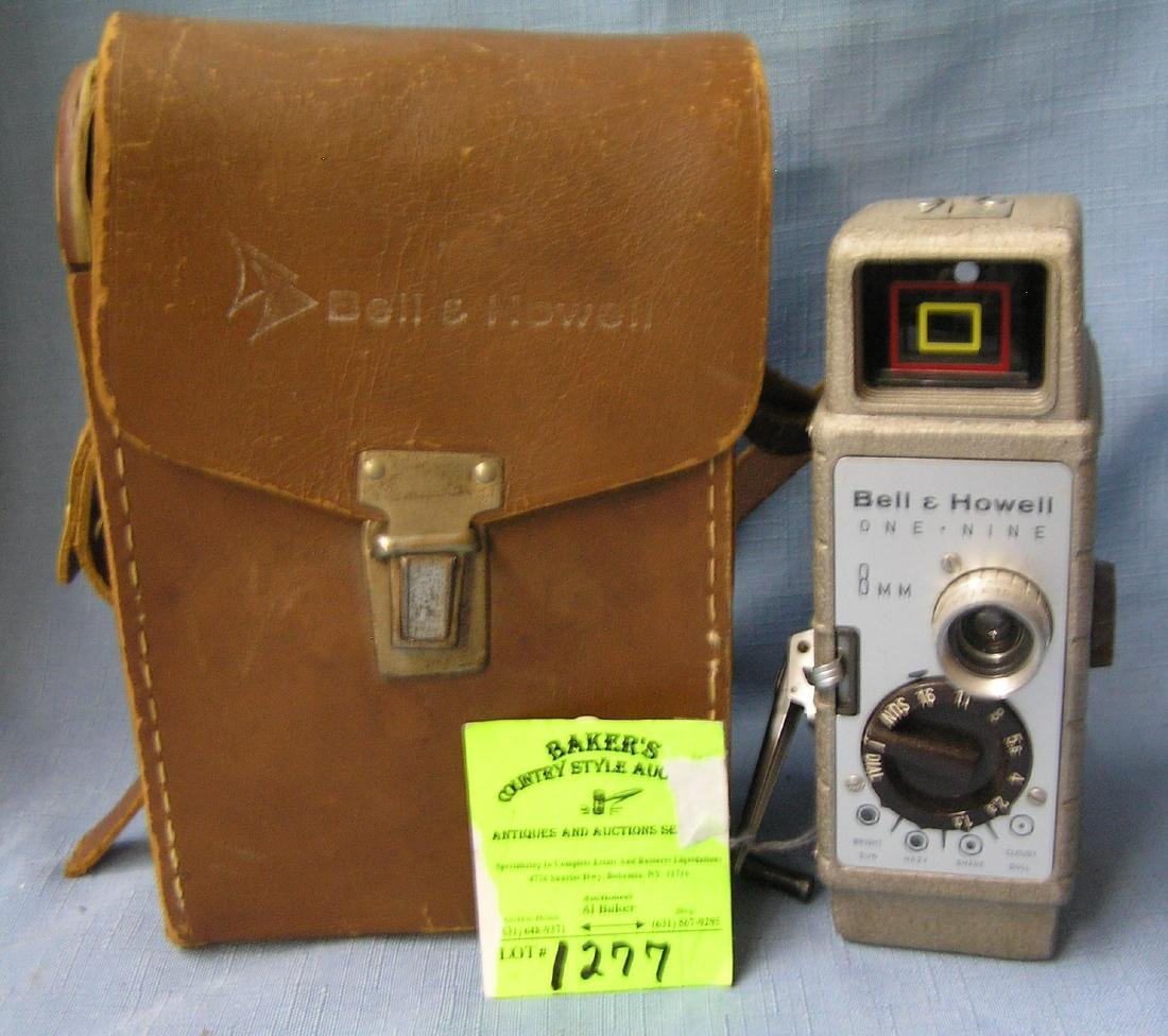 Vintage Bell and Howell 8mm Movie camera