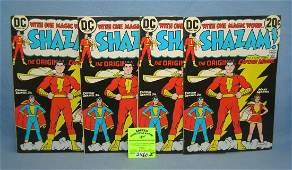 Early Shazam first edition comic books