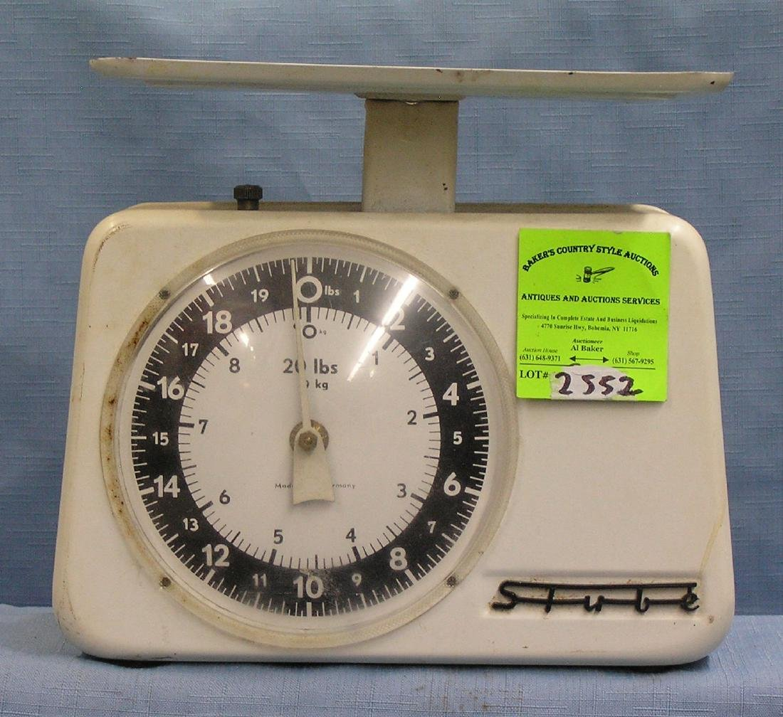 Vintage 20 pound scale made in Germany