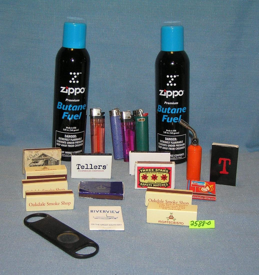 Large group of smoking accessories