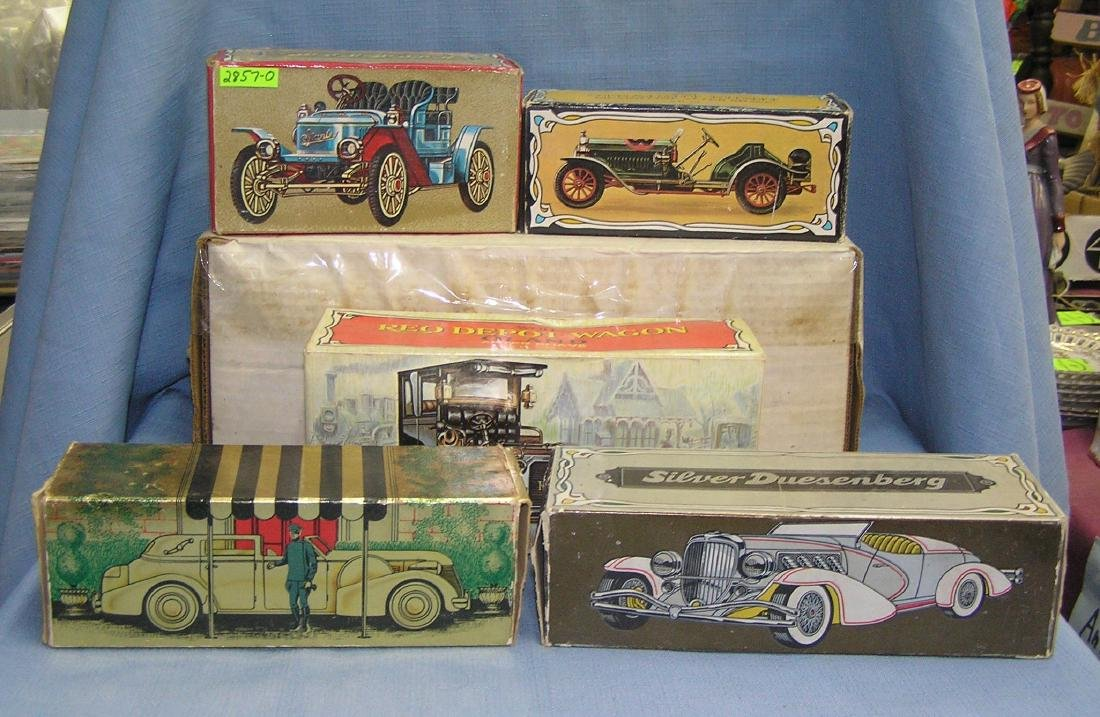 Collection of classic Avon automobiles