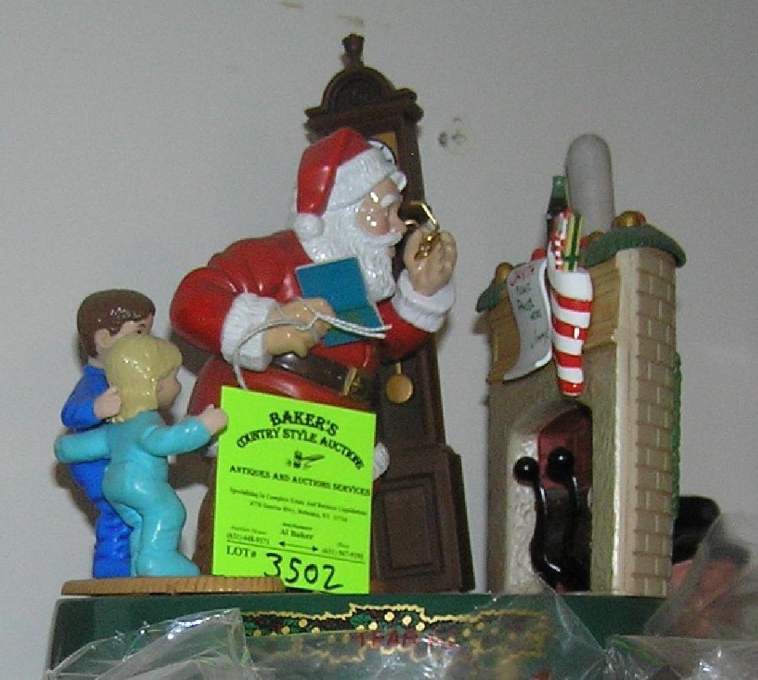 Coca Cola Santa Claus mechanical bank