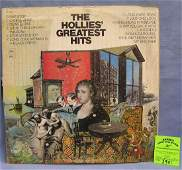 The Hollys Greatest Hits vintage record album