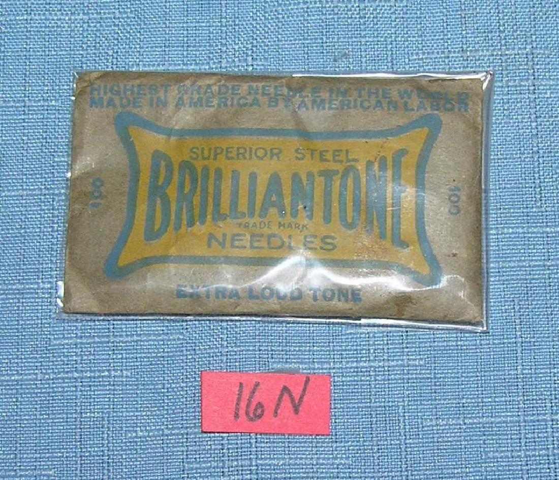 100 Brillantone superior steel phonograph needles