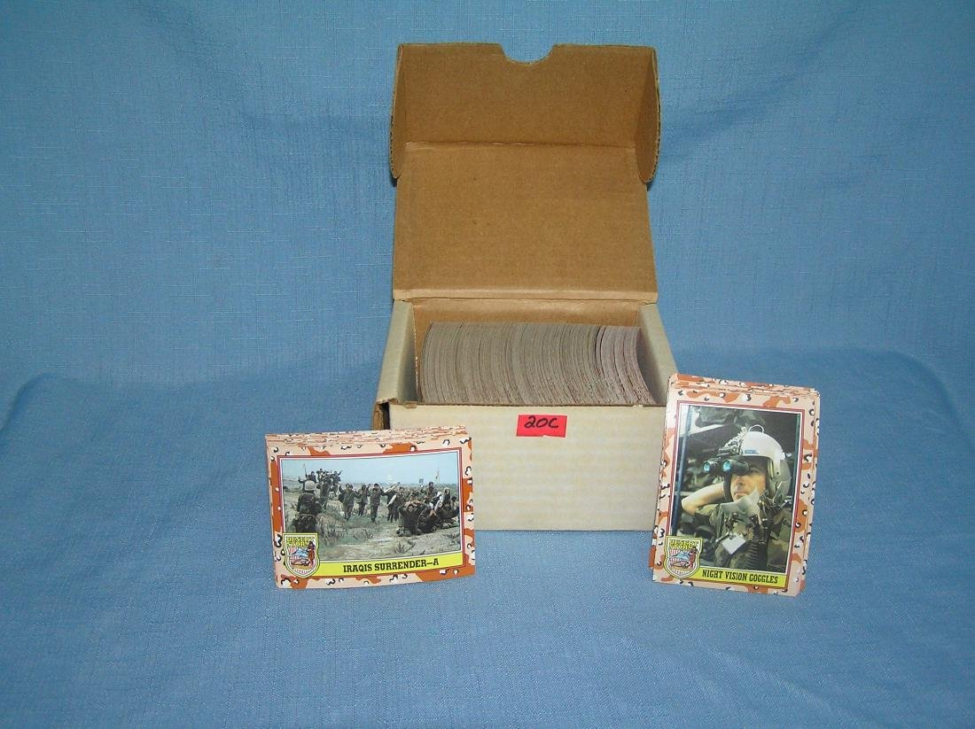 Desert Storm card set