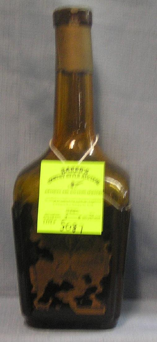 Early Cherry brandy Cognac bottle