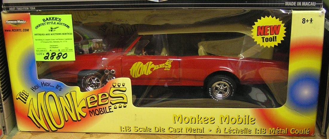 Vintage all cast metal Monkees mobile