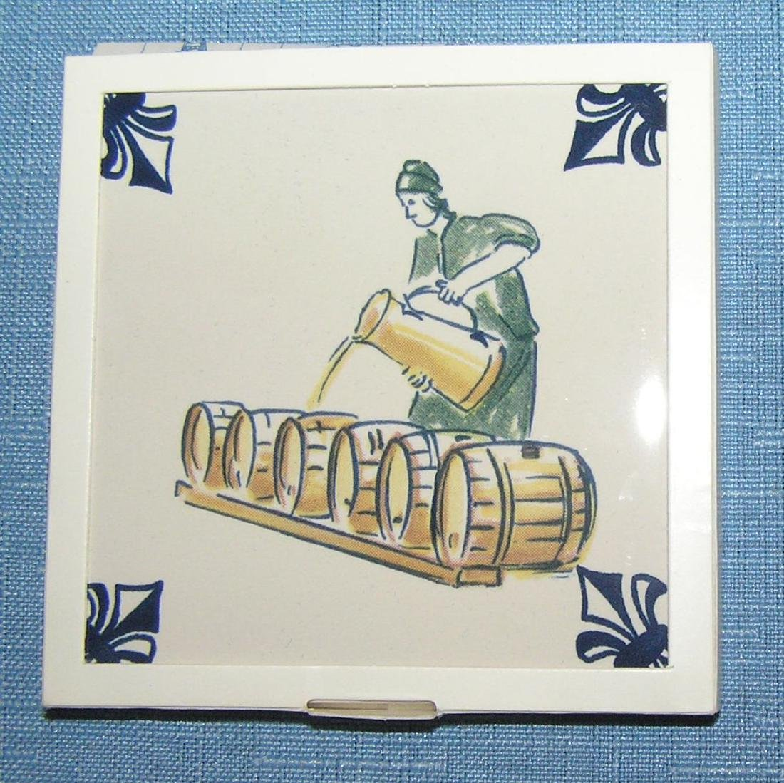 Large collection of Delftware tiles