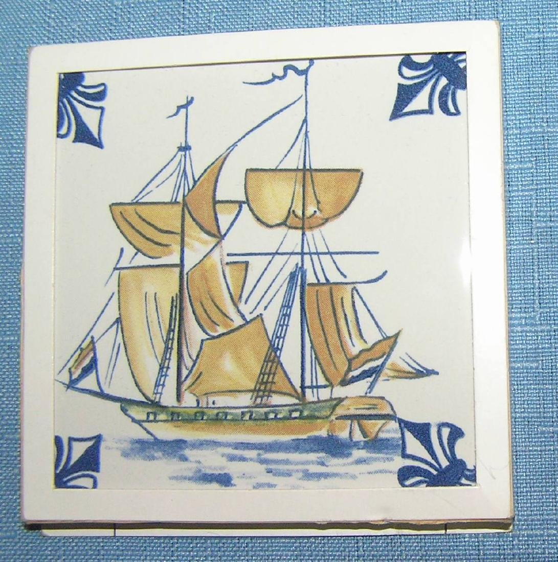 Large collection of Delftware tiles - 2