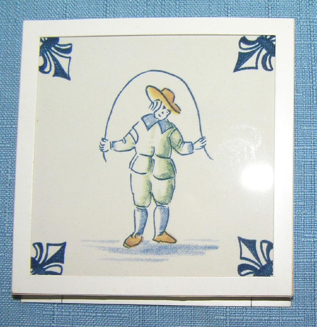 Large collection of Delftware tiles - 5