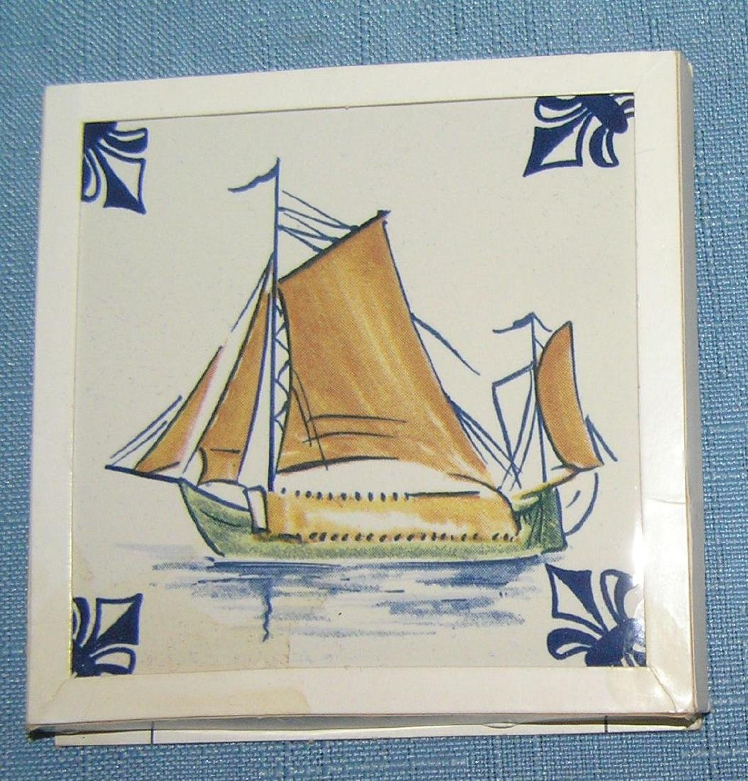Large collection of Delftware tiles - 6