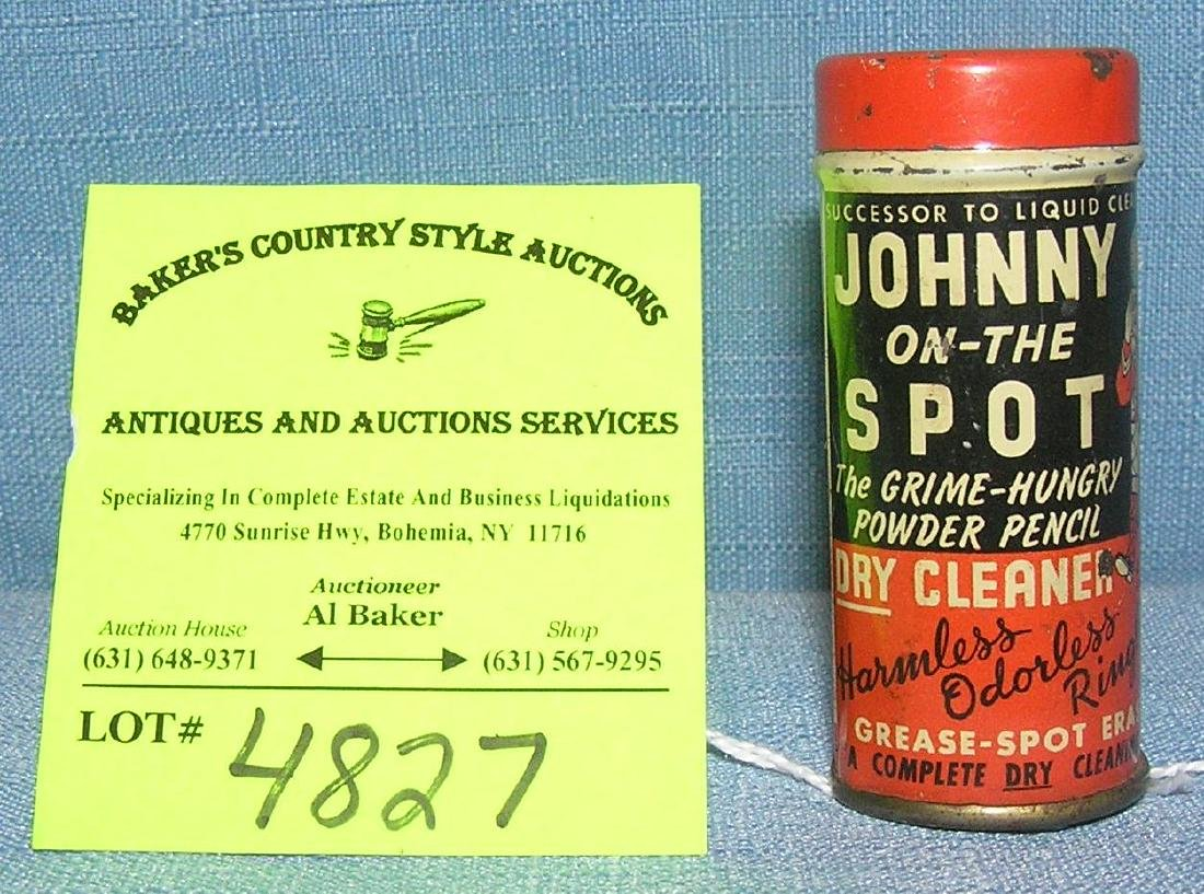 Johnny on the Spot grease and spot remover