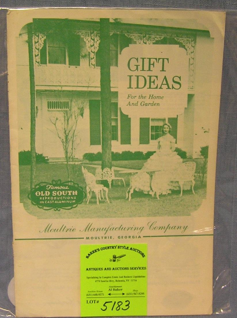 Moultrie manufacturing company sales catalog