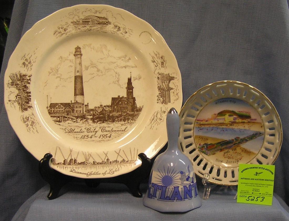 Group of vintage Atlantic City NJ Souvenirs