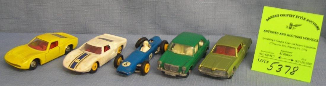 Group of five vintage Matchbox vehicles