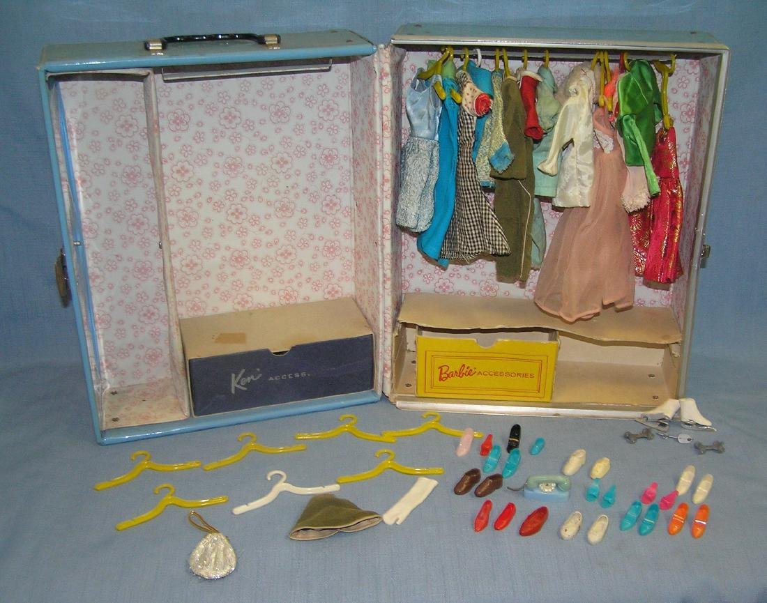 Barbie doll collection featuring 4 vintage dolls and - 7